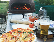 Try cooking with our wood fuelled pizza oven