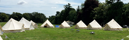 Enjoy your stay in Dorset with us in one of our Bell tents