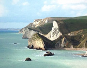 The World Heritage Jurassic Coast only a few miles from us